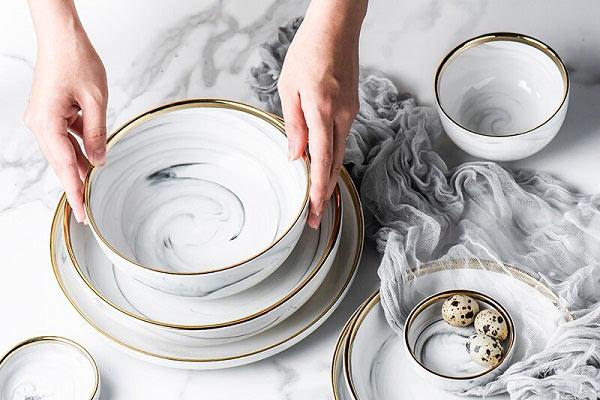 ویژگیهای ظروف چینی مرغوب